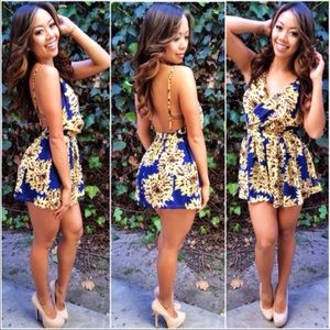 Dresses & Skirts - Indies Backless Romper